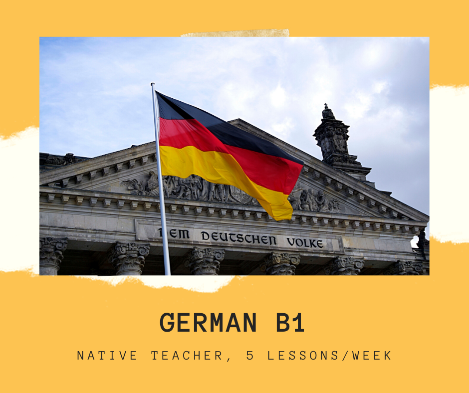 German for adults- B1